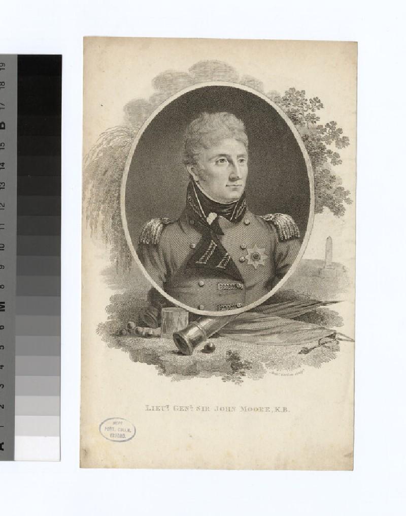 Portrait of Lt.Gen.Sir J. Moore (WAHP35609)