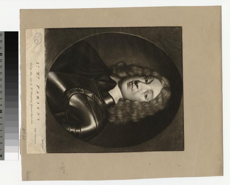 Portrait of Sir W. Parsons