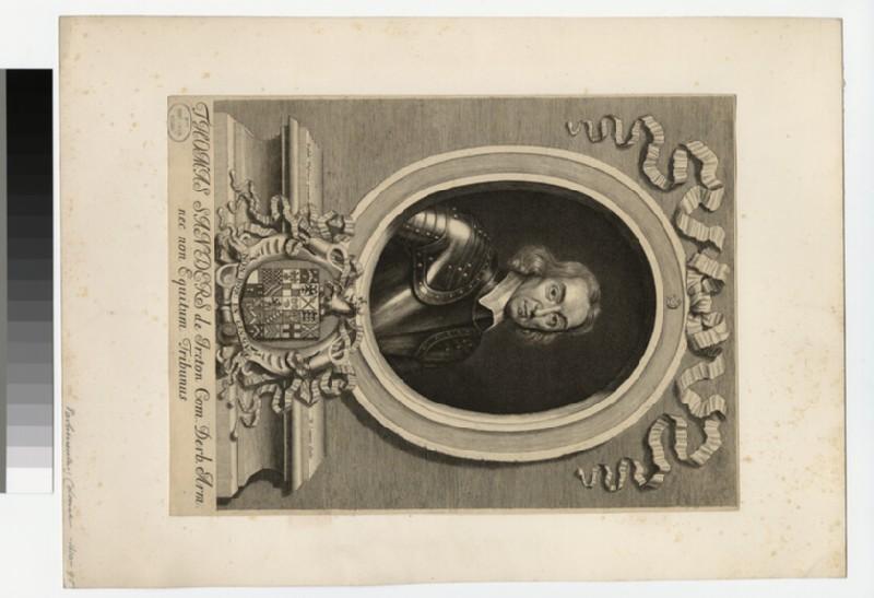 Portrait of Sir T. Sanders (WAHP35740)