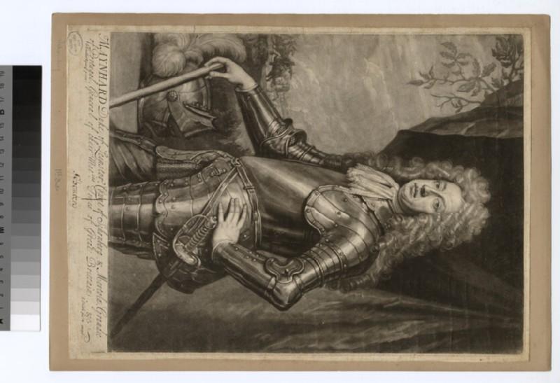 Portrait of Duke of Sconberg