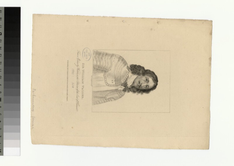 Portrait of Sir W. Waller