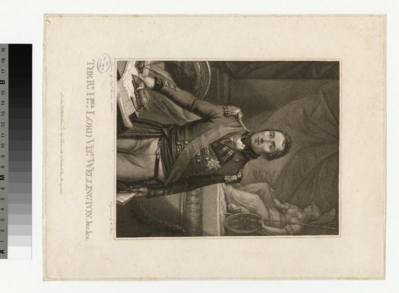 Portrait of Wellington (WAHP35907)
