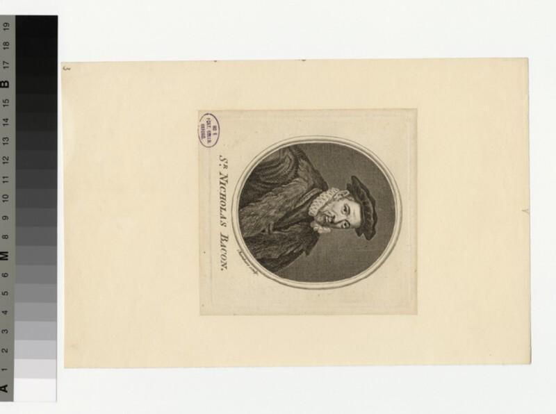 Portrait of N. Bacon