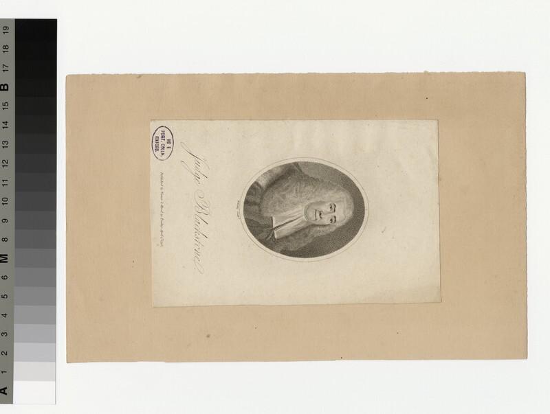 Portrait of Blackstone (WAHP36176)