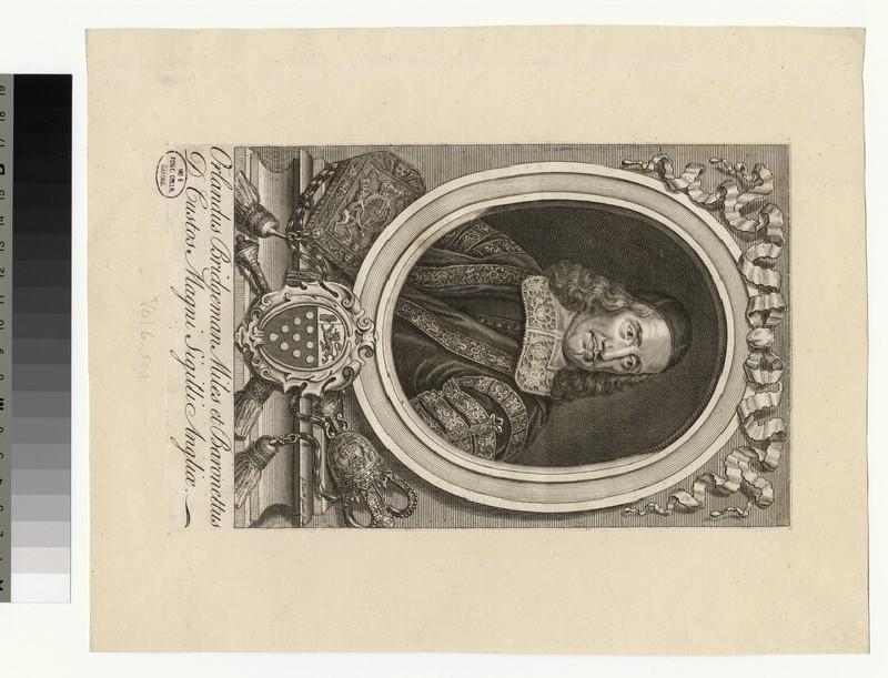 Portrait of O. Bridgeman