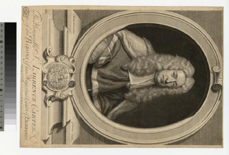 Portrait of Sir L. Carter