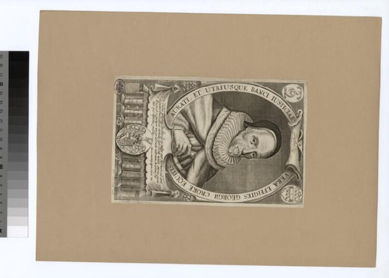 Portrait of G. Croke
