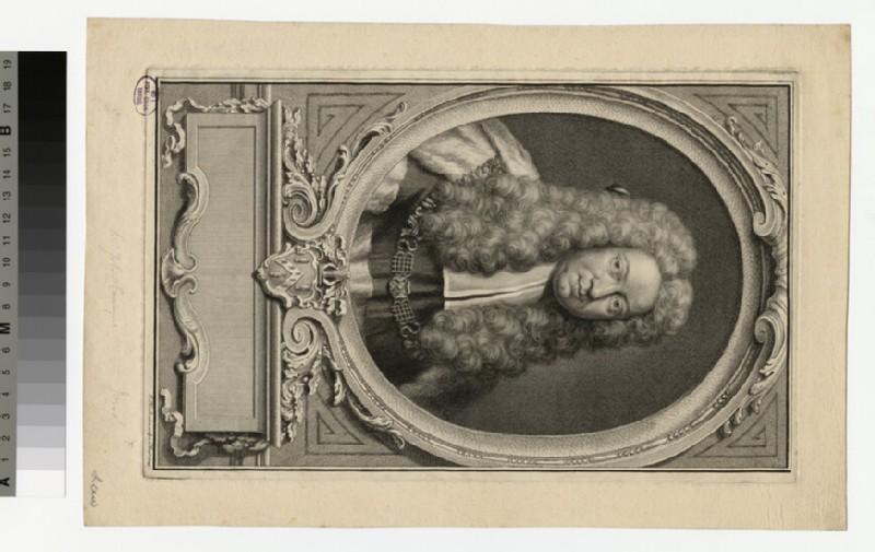 Portrait of Sir J. Comyns (WAHP36349)