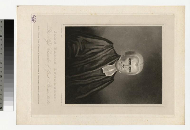 Portrait of Lord Lyndhurst
