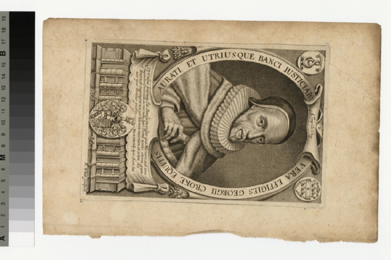 Portrait of G. Croke (WAHP36373.1)