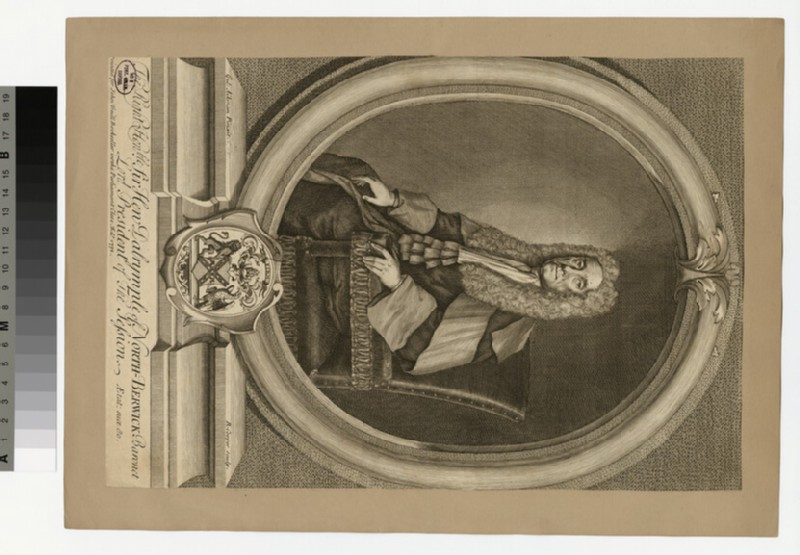 Portrait of Sir H. Dalrymple (WAHP36391)