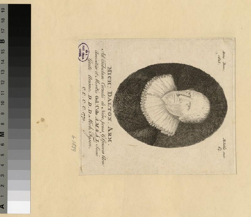 Portrait of M. Dalton (WAHP36394)