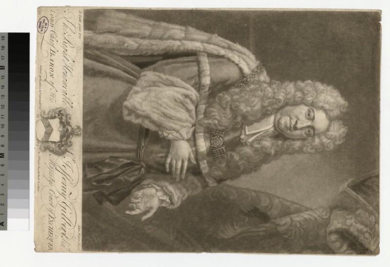 Portrait of chief baron Gilbert