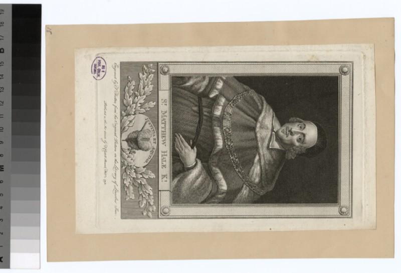Portrait of M. Hale