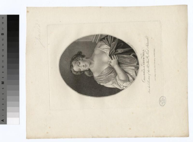 Portrait of Arabella Churchill (WAHP73414)