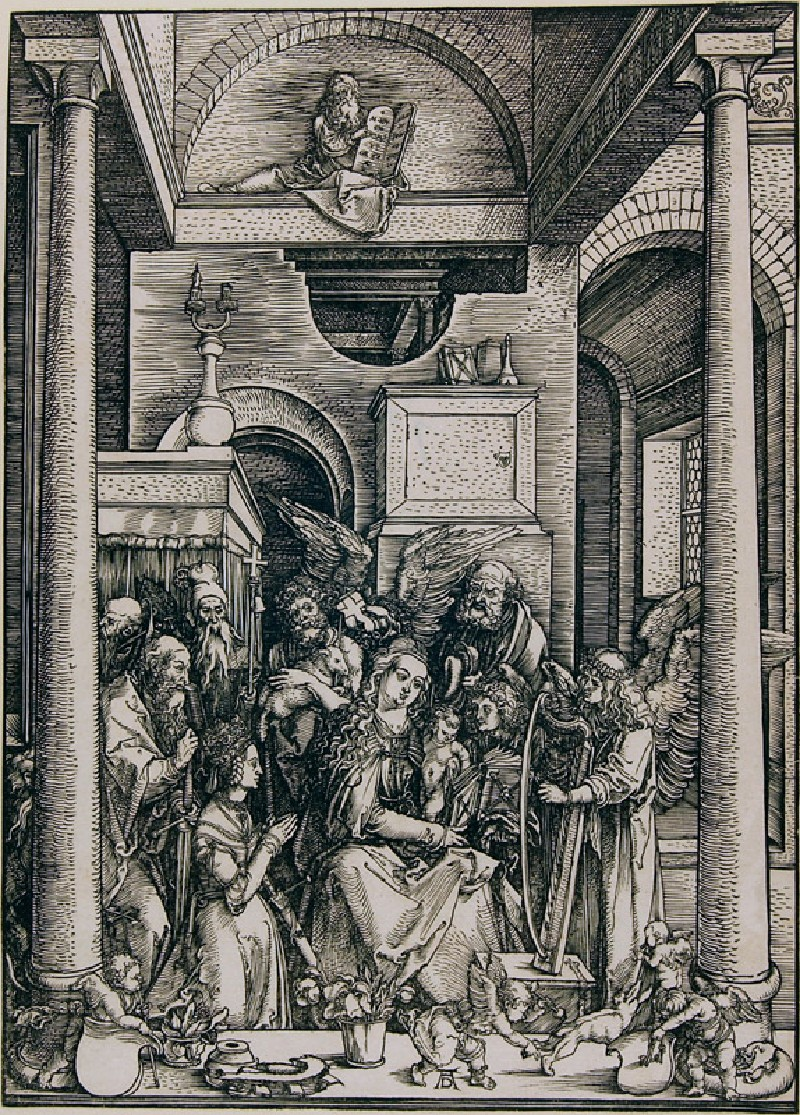 The Glorification of the Virgin (WA.RS.RUD.072, Dürer, Albrecht - The Glorification of the Virgin)
