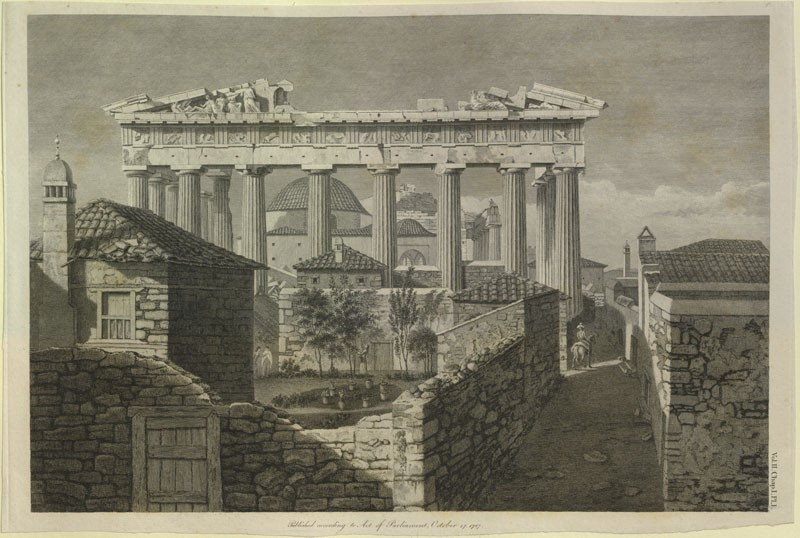 The East End of the Parthenon (WA.RS.ED.026, Stuart, James - The East End of the Parthenon ())