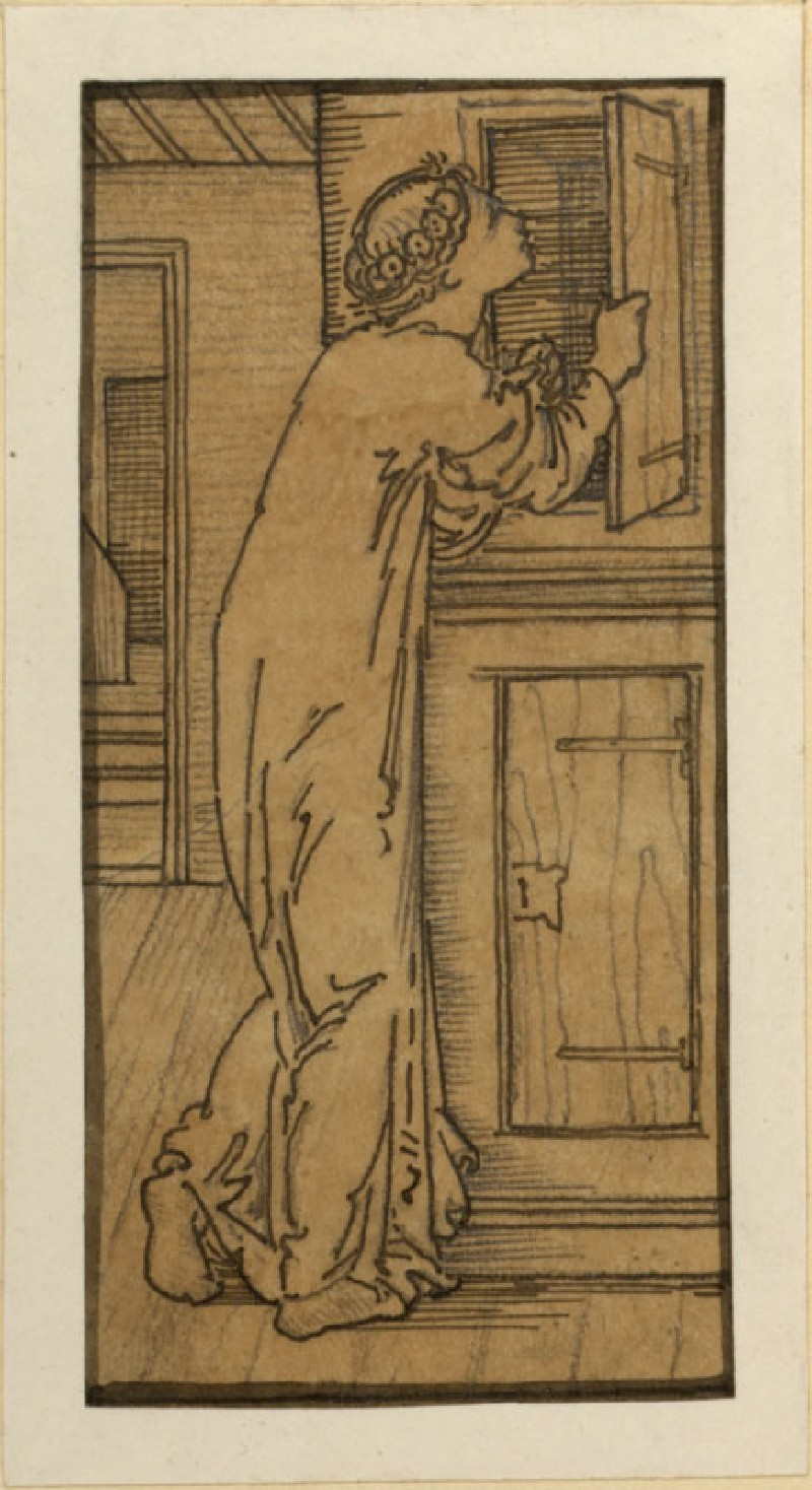 The Story of Cupid and Psyche: Psyche Looking into Cupboard