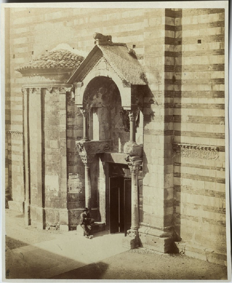 The South Entrance of the Duomo, Verona (WA.RS.ED.080.a, unidentified - The South Entrance of the Duomo, Verona ())
