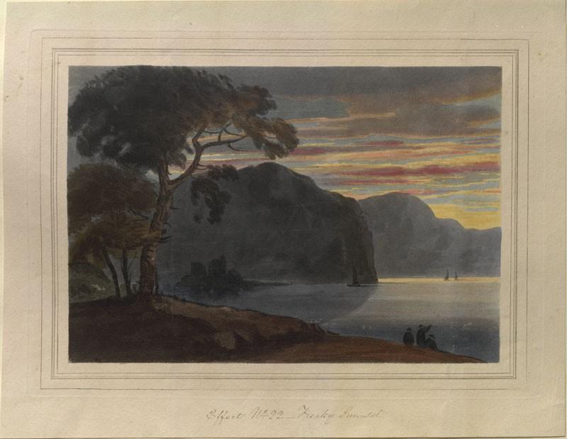 Freaky Sunset (WA.RS.ED.106, Gilpin, William - Freaky Sunset ())