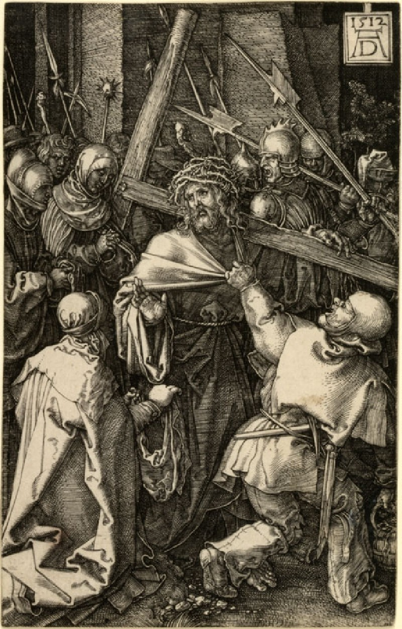 Christ carrying the Cross (WA.RS.ED.124.a, Dürer, Albrecht - Christ carrying the Cross ())