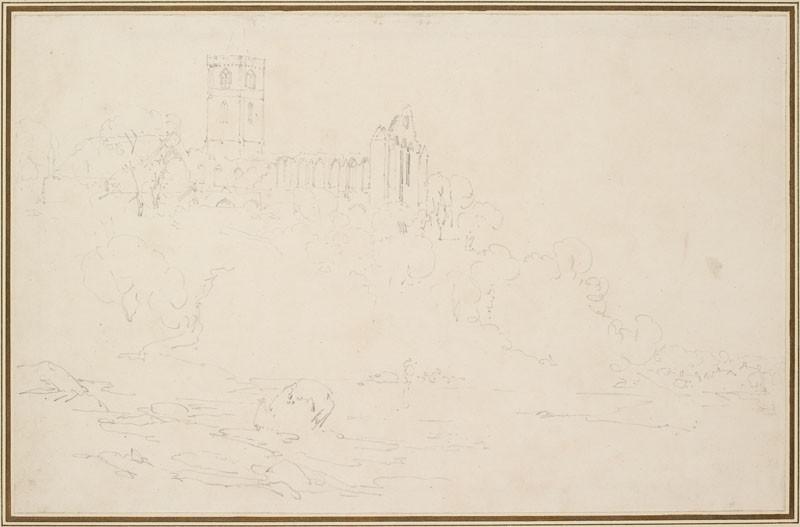 Dunblane Abbey (WA.RS.ED.145, Turner, Joseph Mallord William - Dunblane Abbey ())