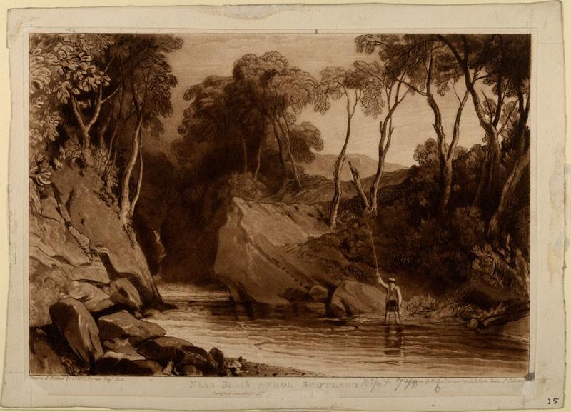 Near Blair Athol (from the Liber Studiorum)
