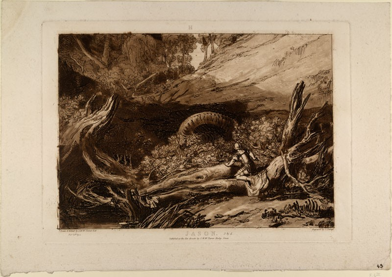 Jason (from the Liber Studiorum) (WA.RS.ED.180, Turner, Joseph Mallord William - Liber studiorum - Jason ())
