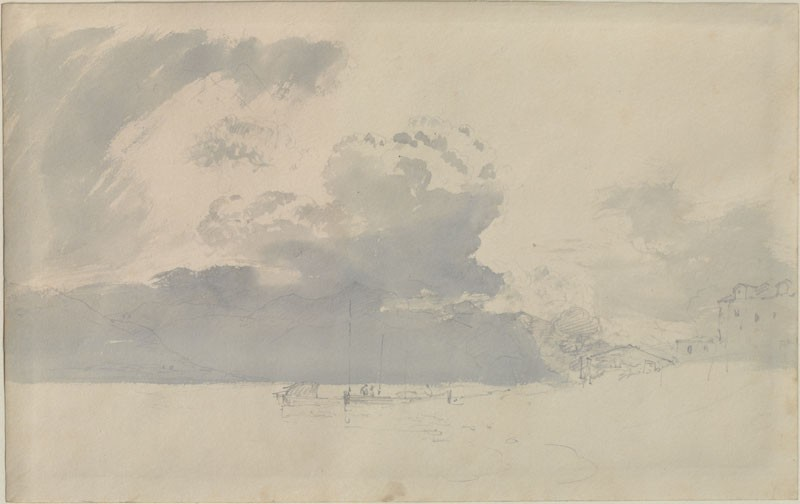 Sketch of Clouds and Hills at Inverary (WA.RS.ED.292, Turner, Joseph Mallord William - Sketch of Clouds and Hills at Inverary ())