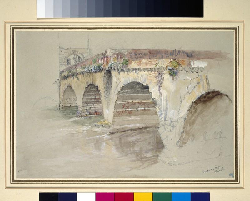 The Ponte della Pietra, Verona (WA.RS.ED.295.a)