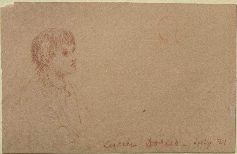 Lucien Dorier (Leaf from a Sketch-Book)