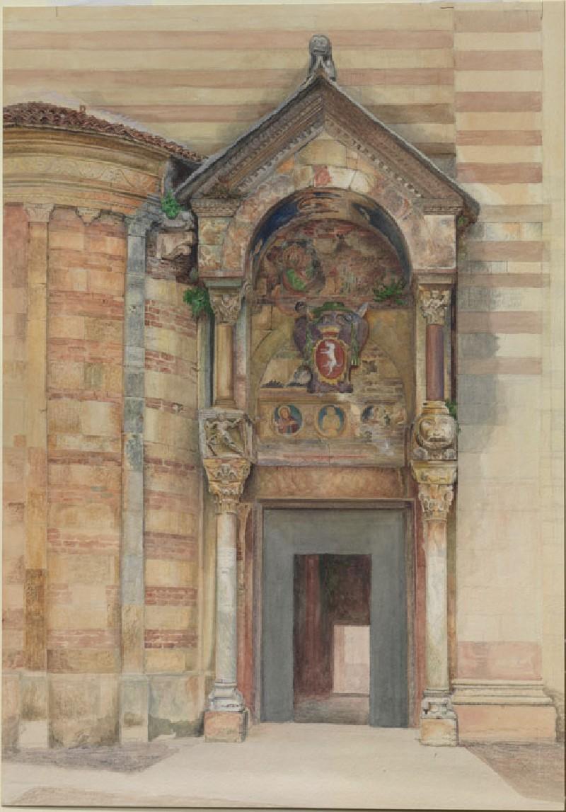 The South Porch of the Duomo, Verona