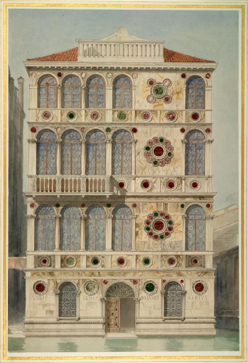 (WA.RS.RUD.111, Boni, Giacomo - The Palazzo Dario, Venice ())