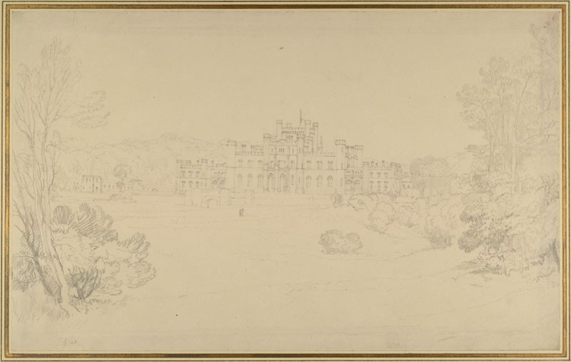 Lowther Castle (WA.RS.RUD.131, Turner, Joseph Mallord William - Lowther Castle ())