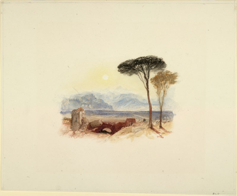 Drawing of Turner's 'Perugia'