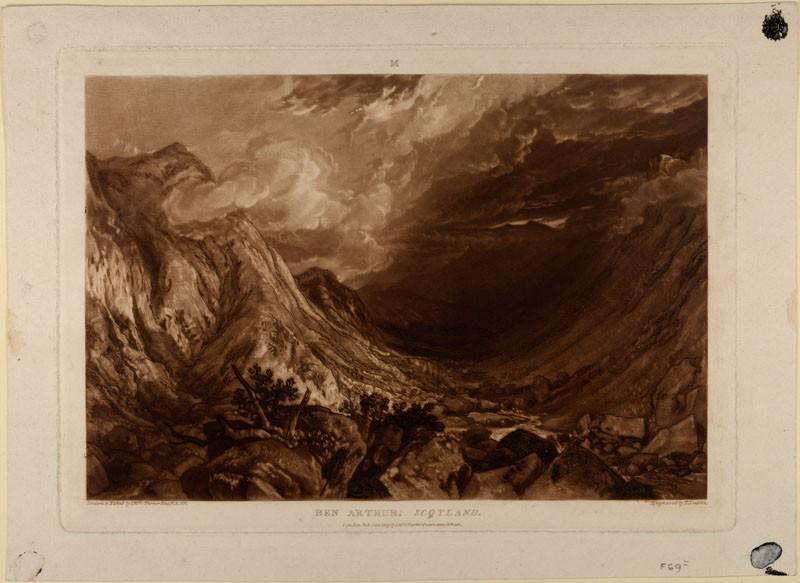 Ben Arthur, Scotland (from the Liber Studiorum)