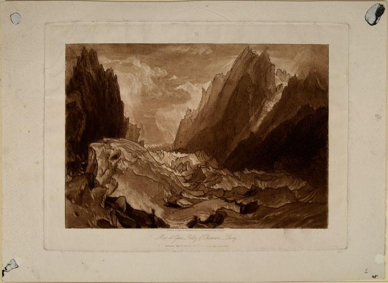 Mer de Glace, Valley of Chamouni, Savoy