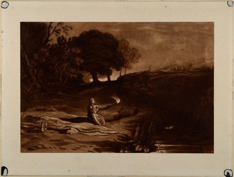 Rispah (from the Liber Studiorum) (WA.RS.RUD.175, Turner, Joseph Mallord William - Liber studiorum - Rispah ())
