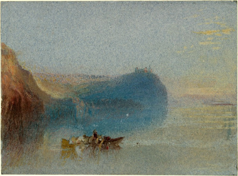 Scene on the Loire (WA.RS.STD.003, Turner, Joseph Mallord William - Scene on the Loire ())