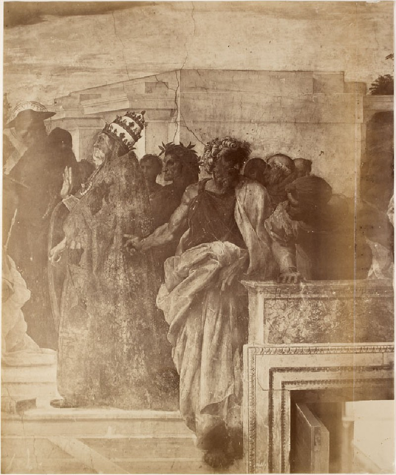 Photograph of Raphael's 'Disputa' in the Stanza della Segnatura (WA.RS.STD.017, Photograph of Raphael's