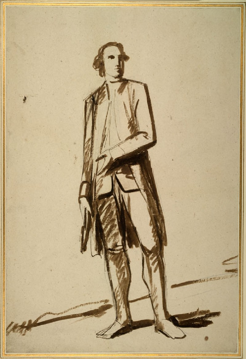 A gentleman standing