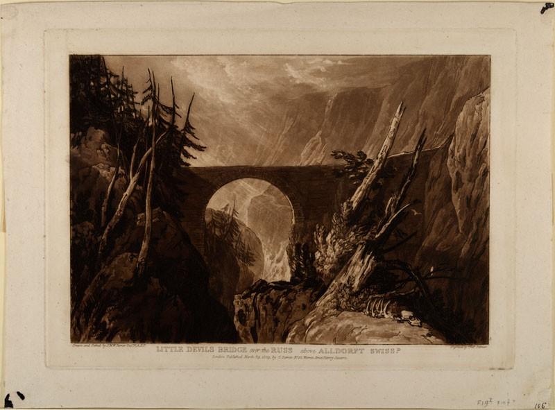 Little Devil's Bridge (from the Liber Studiorum)