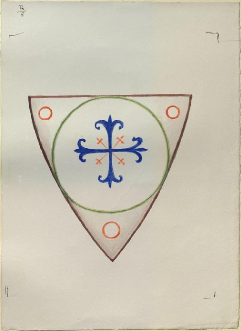 Study of a Shield (WA.RS.UF.09, Ruskin, John - Study of a Shield ())