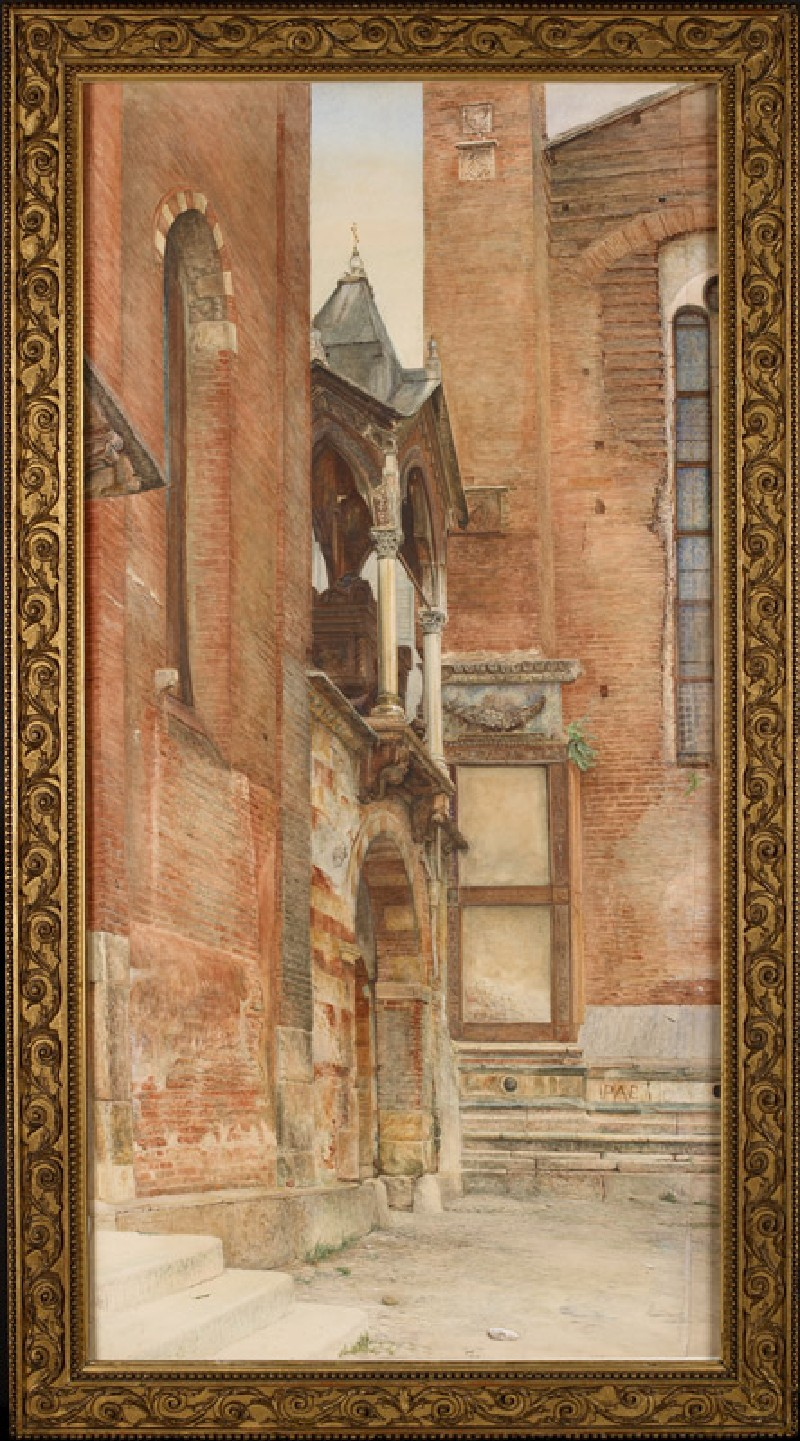 The Castelbarco Tomb, Verona (WA.RS.WAL.06, Bunney, John Wharlton - The Castelbarco Tomb, Verona)