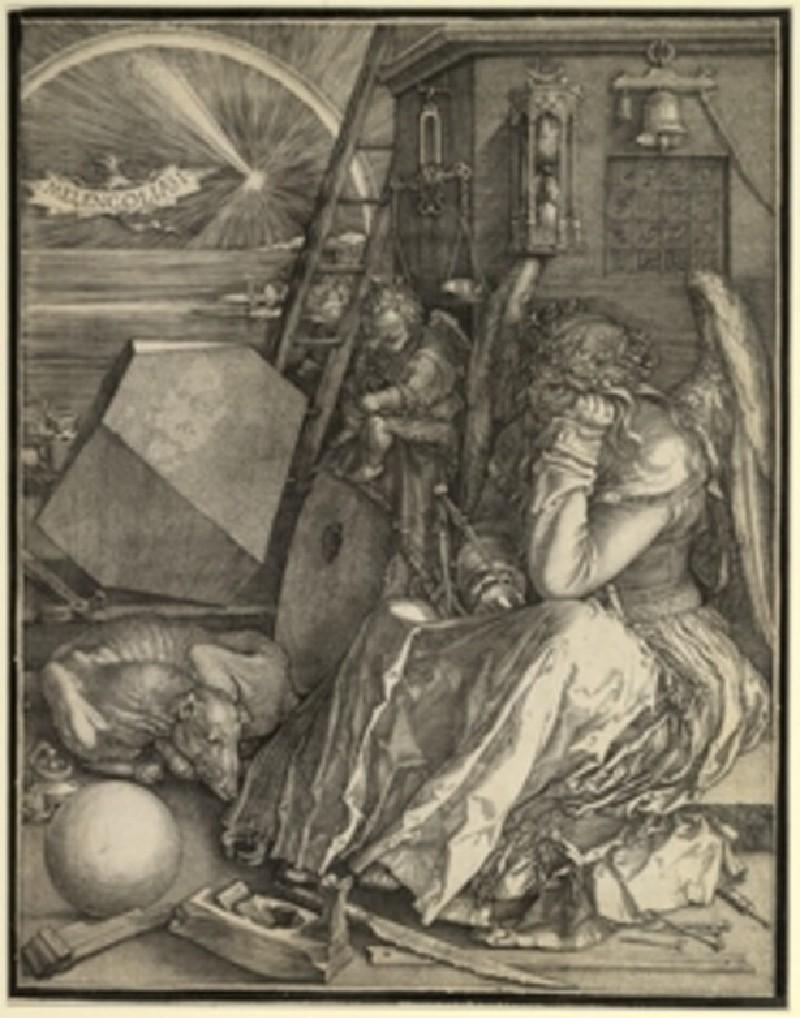 Melencolia I (WA.RS.STD.004, Dürer, Albrecht - Melencolia I (Melancholy) ())