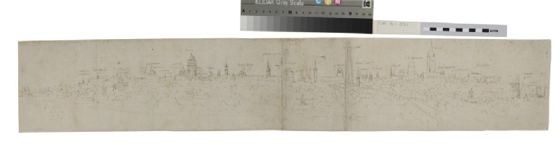 Study for the left-hand Portion of a View of Bruges from the South-West (WA.Suth.B.1.331.1)