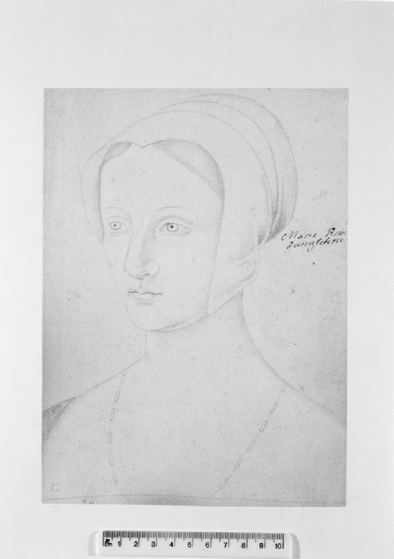 Portrait of Mary Tudor