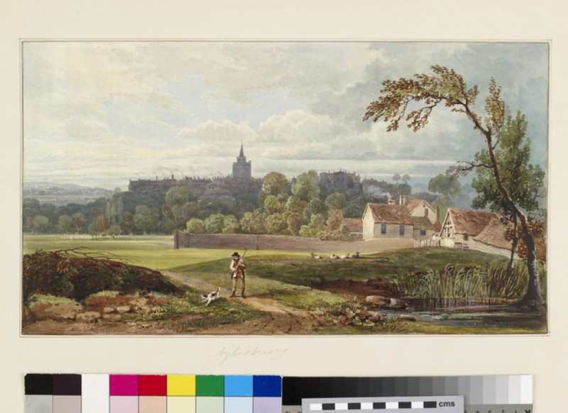 View of Aylesbury, Buckinghamshire
