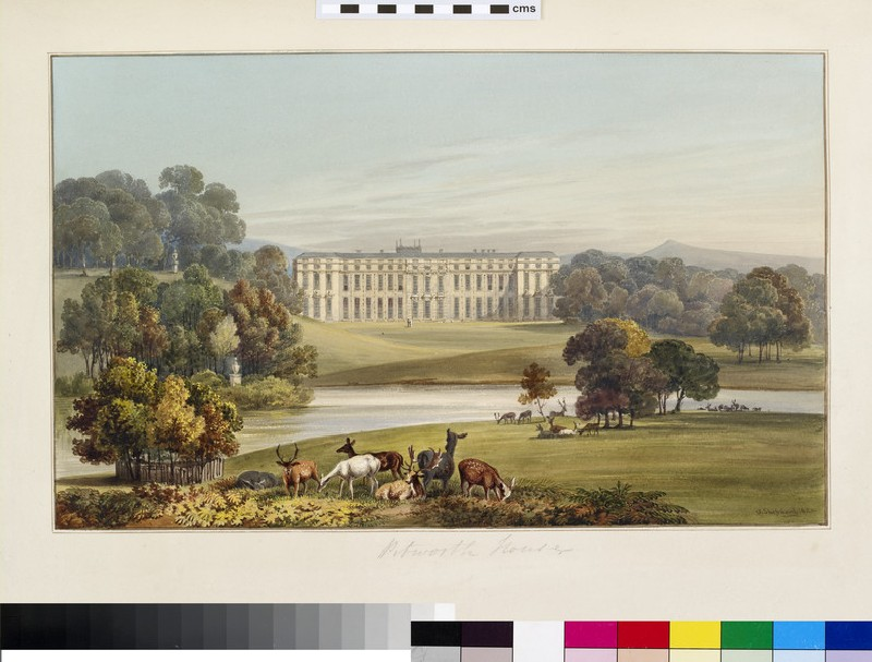 View of Petworth House, West Sussex