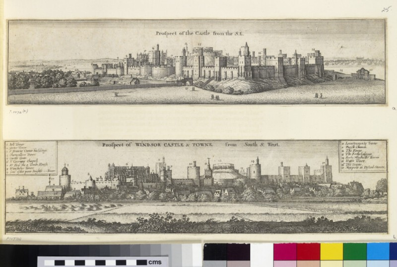 Prospect of Windsor Castle and town from the south-south-west (WA.Suth.C.2.374.2)